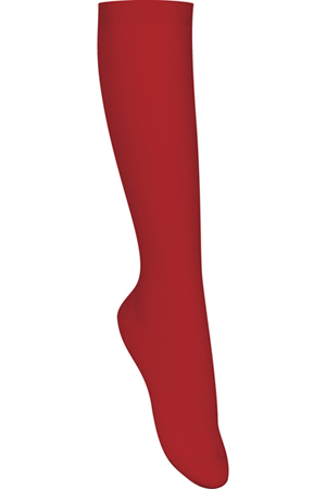 Classroom Uniforms Girls/Juniors Opaque Knee Hi Socks 3 PK Red (5HF101-RED)