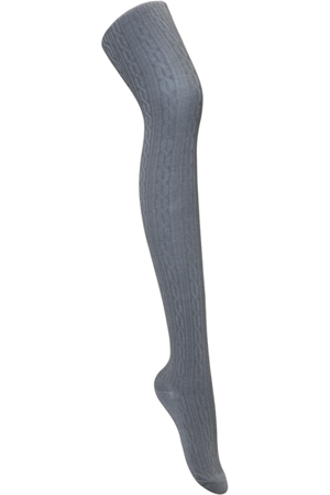 Classroom Uniforms Girls Cable Knit Tights Heather Gray (5HF301-HGRY)