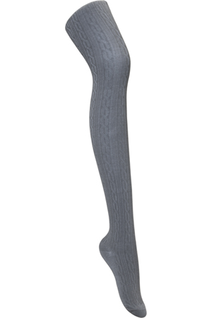 Classroom Uniforms Juniors Cable Knit Tights Heather Gray (5HF302-HGRY)