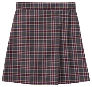 Classroom Uniforms Girls Plus Plaid Double Pleated Scooter PLAID 43 (5P5353A-P43)