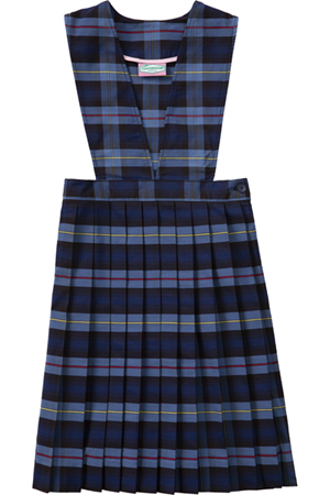 Classroom Uniforms V-Front Jumper Model 62 PLAID 41 (5PC4622A-P41)