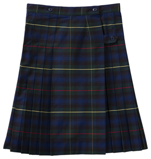 Classroom Uniforms Kilt Model 37 PLAID 55 (5PC5372A-P55)