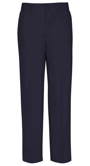 Real School Uniforms Real School Men's Flat Front Pant Navy (60364-RNVY)