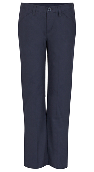 Real School Uniforms Girls Low Rise Pant Navy (61073-RNVY)