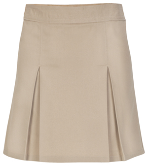 Real School Uniforms Pleat Front Scooter Khaki (65323-RKAK)