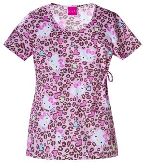 Tooniforms Cherokee Licensed Women's Round Neck Top Pink