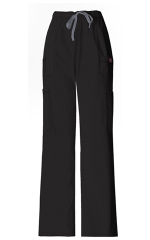 Dickies Gen Flex Men's Drawstring Cargo Pant in Black (81003-BLKZ)