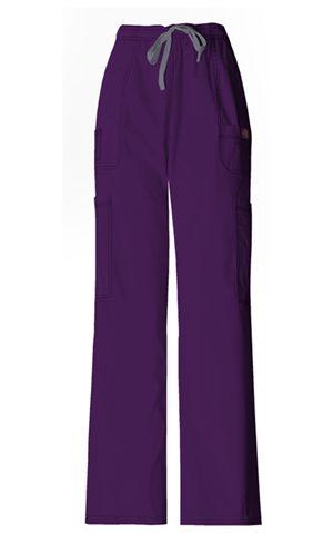 Dickies Gen Flex Men's Drawstring Cargo Pant in Eggplant (81003-EGPZ)