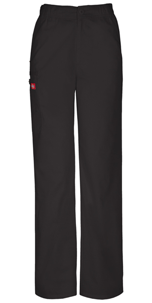 Men's Elastic Waist Cargo Pant in Black (81100-BLWZ)