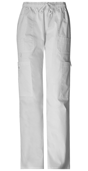 Dickies Gen Flex Men's Men's Drawstring Cargo Pant White