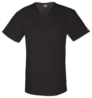 Dickies Men's V-Neck Top Black (81800-BLWZ)