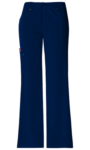 Dickies Xtreme Stretch Mid Rise Drawstring Cargo Pant in D-Navy (82011-NVYZ)