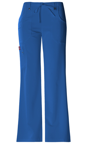 Dickies Xtreme Stretch Mid Rise Drawstring Cargo Pant in Royal (82011-RYLZ)