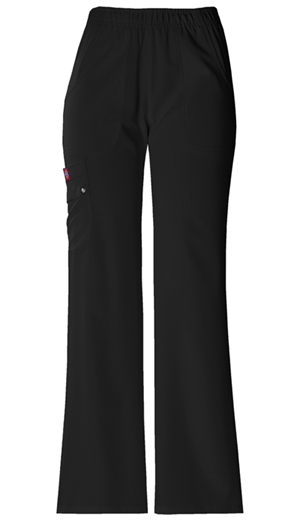 Xtreme Stretch Women's Mid Rise Pull-On Cargo Pant Black