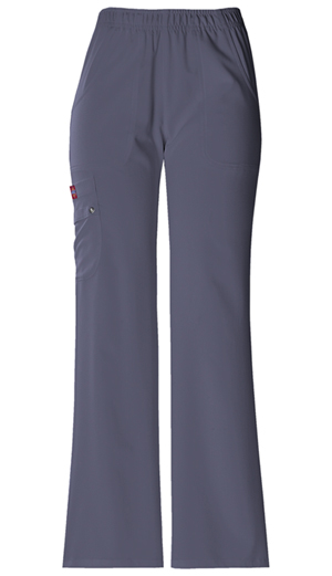 Xtreme Stretch Women's Mid Rise Pull-On Cargo Pant Grey