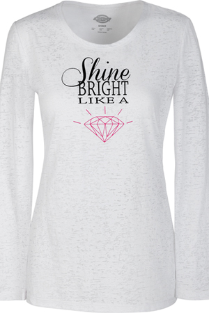 "Fashion Solids ""Shine Bright"" Knit Tee (82763-SHBT) (82763-SHBT)"