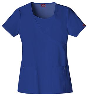 Dickies Mock Wrap Top Galaxy Blue (82814-GBLZ)