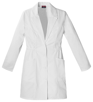 "Dickies Dickies Prof. Whites Women's 34"" Lab Coat White"