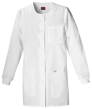 "Dickies Dickies Prof. Whites Women's 32"" Lab Coat White"
