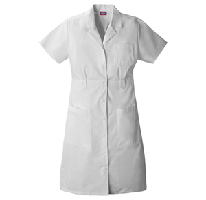 Dickies Dickies Prof. Whites Women's Button Front Dress White