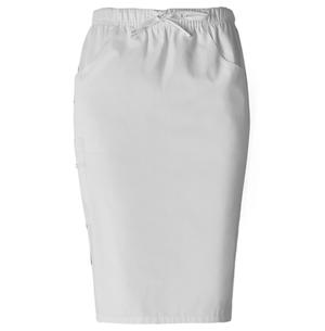 Dickies Dickies Prof. Whites Women's Drawstring Cargo Skirt White