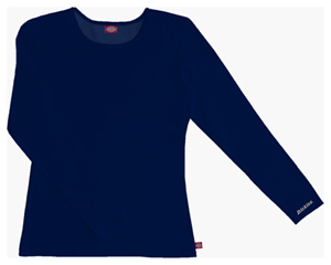 Dickies Dickies Solids Women's Long Sleeve Underscrub Knit Tee Blue