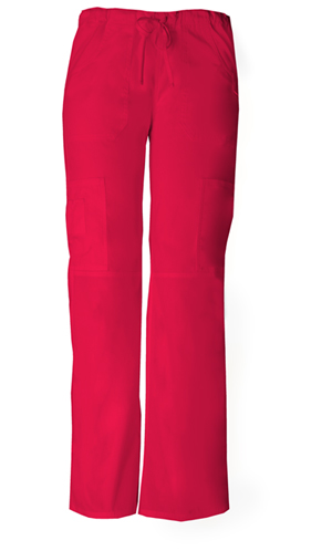 Dickies EDS Signature Low Rise Drawstring Cargo Pant in Red (85100P-REWZ)