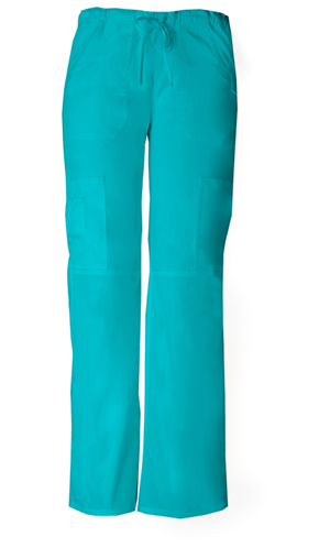 Dickies EDS Signature Low Rise Drawstring Cargo Pant in Teal Blue (85100P-TLWZ)