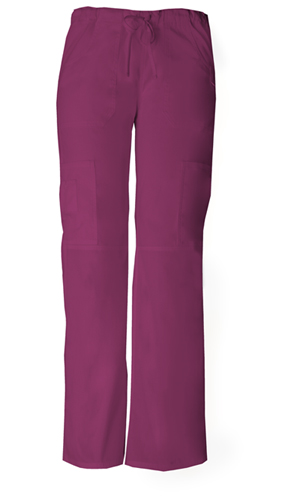 Dickies EDS Signature Low Rise Drawstring Cargo Pant in Wine (85100P-WIWZ)