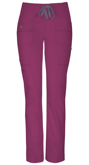 Dickies Gen Flex Low Rise Slim Drawstring Pant in D-Wine (85110P-WINZ)