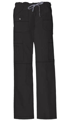 Dickies Gen Flex Women's Low Rise Drawstring Cargo Pant Black