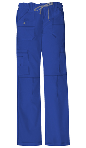 Dickies Gen Flex Low Rise Drawstring Cargo Pant in Galaxy Blue (857455T-GBLZ)