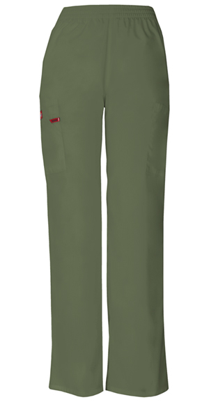 Dickies Dickies EDS Signature Women's Natural Rise Tapered Leg Pull-On Pant Green