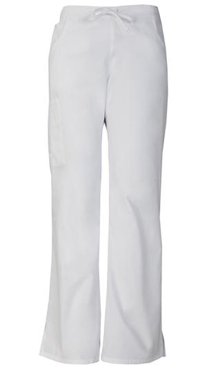 Dickies Mid Rise Drawstring Cargo Pant White (86206-WHWZ)