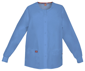 Dickies Snap Front Warm-Up Jacket Ciel Blue (86306-CIWZ)