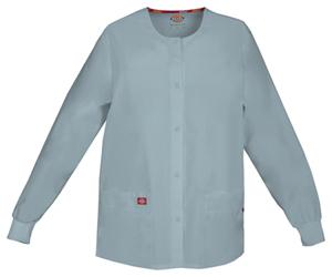 Dickies Snap Front Warm-Up Jacket Grey (86306-GRWZ)