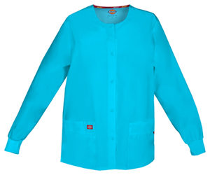 Dickies Snap Front Warm-Up Jacket Turquoise (86306-TQWZ)