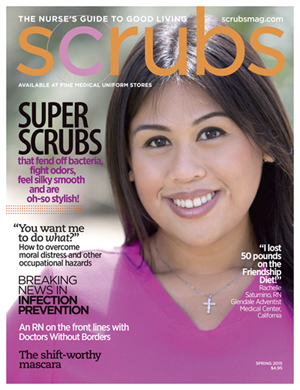 Picture of Scrubs Magazine in Spring 2015