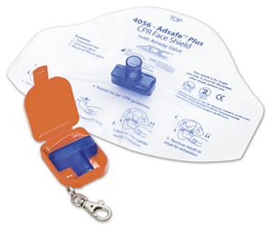 Medical Adsafe Face Shield Plus w/keychain (AD4056Q-ORG) (AD4056Q-ORG)