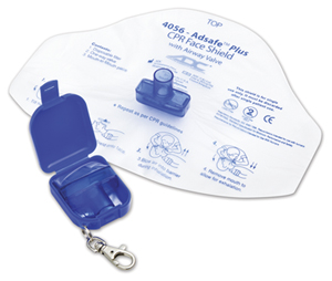 ADC Unisex Adsafe Face Shield Plus w/keychain Blue