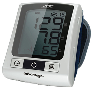 Fashion Accessories Advantage Wrist Digital BP Monitor (AD6015N-STD) (AD6015N-STD)