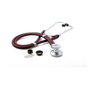 ADC Unisex ADSCOPE641 Sprague Rappaport Stethoscope Red