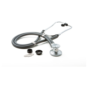 critical care cardiology ADSCOPE641 Sprague Rappaport Stethoscope (AD641Q-GRY) (AD641Q-GRY)