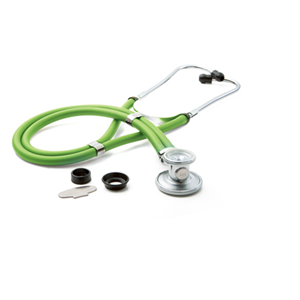 ADC ADSCOPE641 Sprague Rappaport Stethoscope NEON GREEN (AD641Q-NEG)