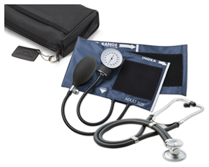 Medical ECONOMY KIT BP, SCOPE, CASE (AD776641-BK) (AD776641-BK)