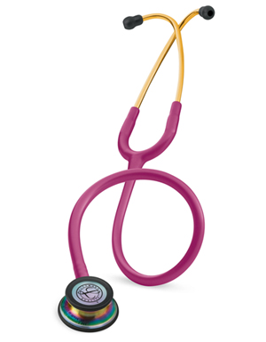 Littmann Unisex Classic III Monitoring Stethoscope SF Red
