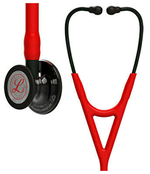 Littmann Cardiology IV Diagnostic Stethoscope HP Red (L6182HPSM-RED)