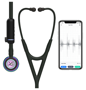 Littmann 3M Littmann CORE Digital Stethoscope Black (L8570HPRB-BK)