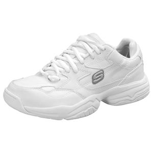 Medical Footwear Women's Slip Resistant Athletic Footwear White