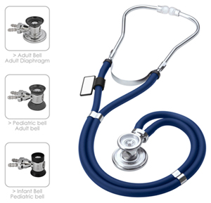 MDF MDF Sprague Rappaport Stethoscope Maliblu (Royal Blue) (MDF767-10)